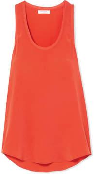Equipment Mel Washed-silk Tank - Bright orange