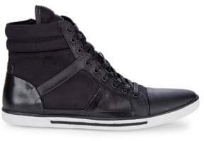 Kenneth Cole Upside-Down Leather Sneakers