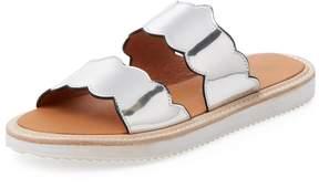 F-Troupe Women's Wave Edge Slip-On Sandal