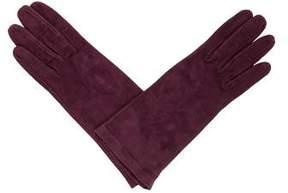 Neiman Marcus Suede Gloves