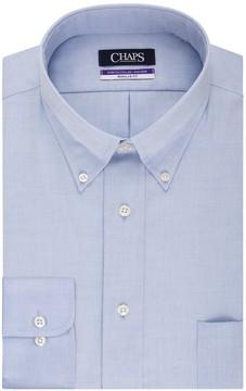 Chaps Big & Tall Regular Fit Non Iron Stretch Button-down Collar Dress Shirt