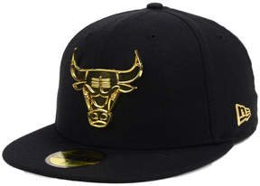 New Era Chicago Bulls Current O'Gold 59FIFTY Cap