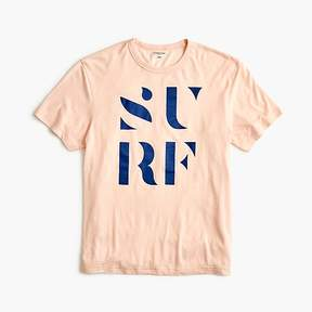 J.Crew Tall triblend T-shirt in Surf graphic