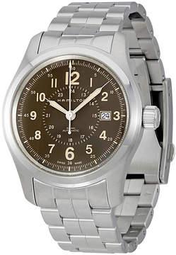 Hamilton Khaki Field Automatic Brown Dial Men's Watch