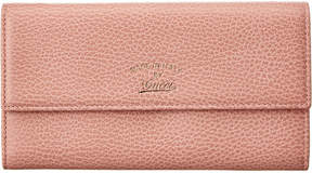 Gucci Pink Leather Swing Continental Wallet - ONE COLOR - STYLE