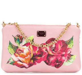 Dolce & Gabbana floral print clutch - PINK & PURPLE - STYLE