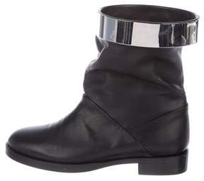 Pierre Hardy Leather Mid-Calf Boots