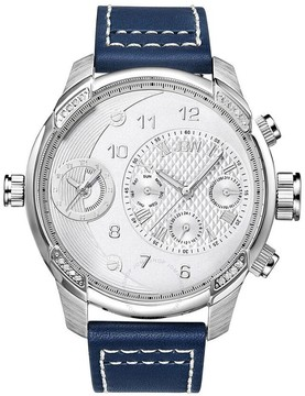 JBW G3 Silver Dial Diamond Men's Watch
