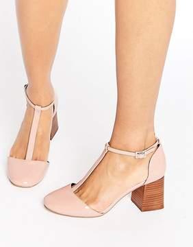 Asos ONE WISH T-Bar Heels