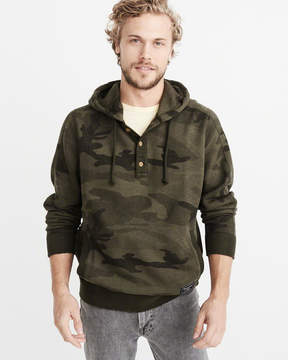 Abercrombie & Fitch Henley Hoodie