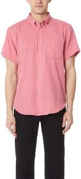Naked & Famous Denim Gauze Short Sleeve Shirt