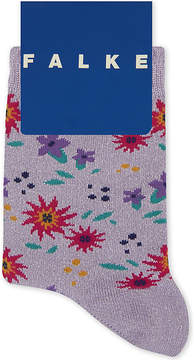 Falke Floral glitter cotton sock