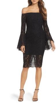 Bardot Women's Solange Corded Lace Sheath Dress