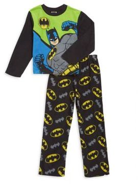 AME Sleepwear Little Boy's and Boy's Batman Pajama Set