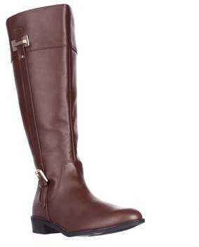 Karen Scott Ks35 Deliee Flat Knee-high Boots, Cognac.
