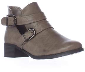 Easy Street Shoes Badge Low Cut Ankle Boots, Granite Burnish.