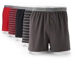 Hanes Men's Classics 5-pk. Knit Boxers