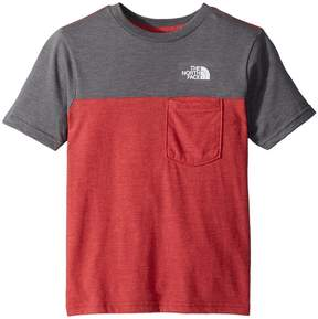 The North Face Kids Tri-Blend Pocket Tee Boy's T Shirt