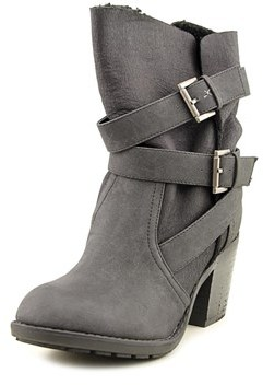 Report Yurick Women Round Toe Synthetic Mid Calf Boot.