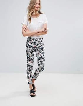 French Connection Isola Bloom Print Cotton Pants