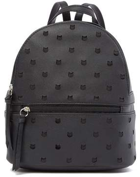 T-Shirt & Jeans Perforated Cat Small Backpack