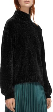 Whistles Funnel Neck Chenille Sweater