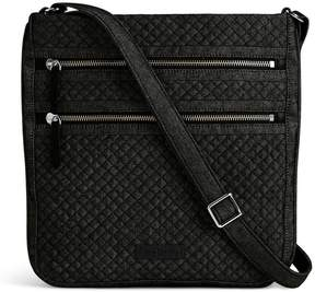 Vera Bradley Denim Iconic Triple-Zip Hipster Cross-Body Bag - DENIM NAVY - STYLE
