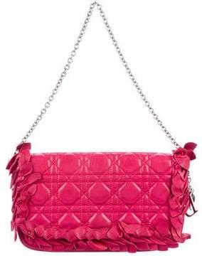Christian Dior Cannage Leather Shoulder Bag