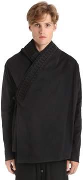 Damir Doma Brushed Heavy Cotton Drill Kimono Jacket
