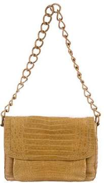 Nancy Gonzalez Crocodile Chain Shoulder Bag