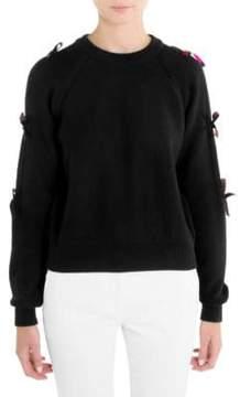 Emilio Pucci Wool Bow Sweater