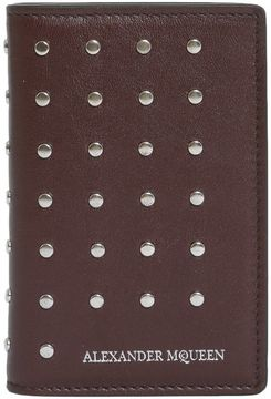 Alexander McQueen Leather Document Holder