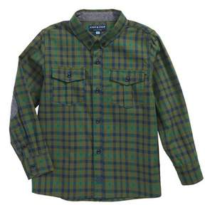 Andy & Evan Boy's Check Flannel Shirt