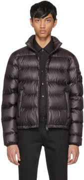 Prada Black Down Ripstop Puffer Jacket