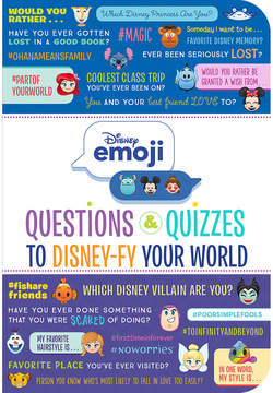 Disney Emoji: Questions & Quizzes to fy Your World Book