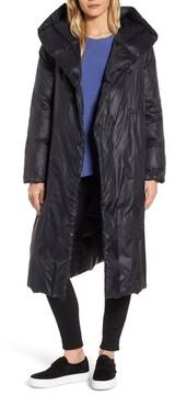 Eileen Fisher Women's Shawl Hood Down Coat