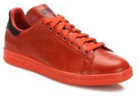 Adidas By Raf Simons Perforated Leather Shoes