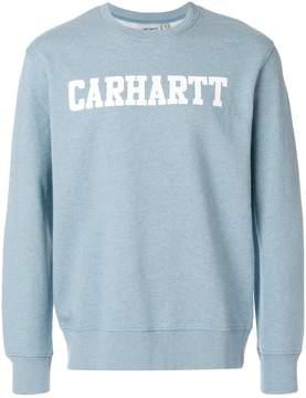 Carhartt logo print College sweatshirt