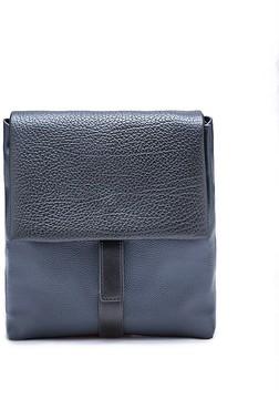 Calvin Klein Pebble Leather Slated Crossbody Bag
