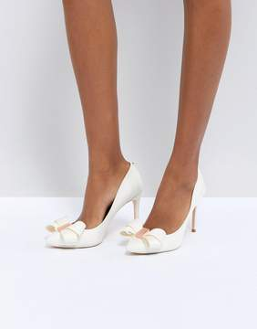 Ted Baker Tie The Knot Skalett Heeled Shoes