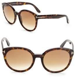 Tom Ford Tortoiseshell Cat-Eye Glasses