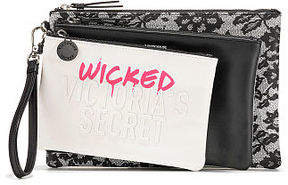 Victoria's Secret Victorias Secret Wicked Backstage Pouch Trio