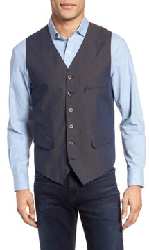 Kroon Men's Hootie Classic Fit Linen & Cotton Vest