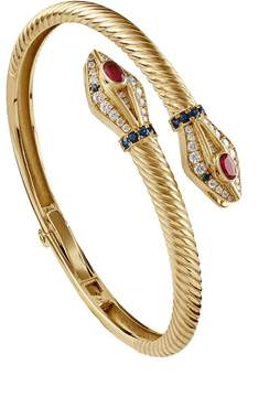 Azza Fahmy Snake Bangle
