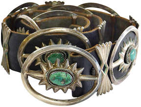 One Kings Lane Vintage 1930s Native American-Style Concho Belt