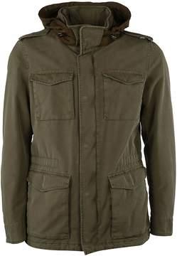 Herno Hooded Denim Jacket