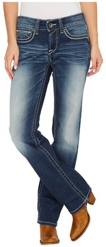 Ariat R.E.A.L. Straight Sophia in Marine Women's Jeans