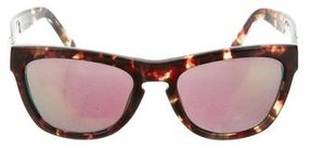 Westward Leaning Westward\\Leaning Reflective Marbled Sunglasses