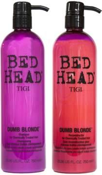 Tigi Bed Head Colour Combat Dumb Blonde Shampoo & Conditioner Set.