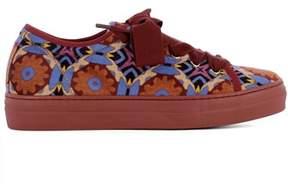 Etro Women's Multicolor Velvet Sneakers.